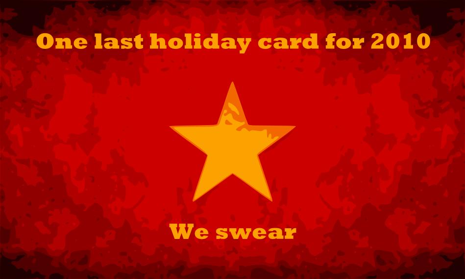 Holidays again